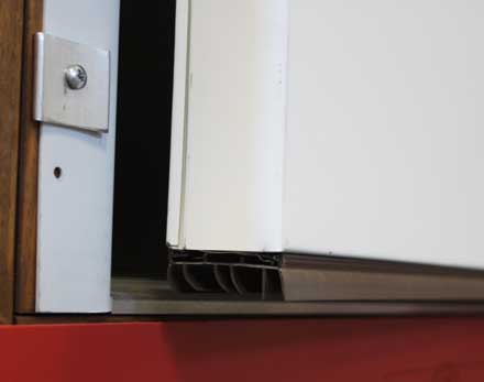 Products cannonball building product supplier - Commercial door sweeps for exterior doors ...